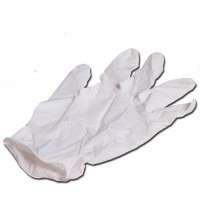 BPI Latex Safety Gloves - 25-pack, large