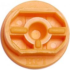 BPI Block, Style 7 (Coburn), Flexi-block, butterscotch, 25-pack