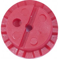 BPI Block, Style 11 (Gamma/Kappa), 18mm size, Flexi-block, Red, 25-pack