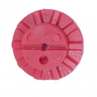 BPI Block, Style 11 (Gamma/Kappa), 24mm size, Flexi-block, Red, 25-pack