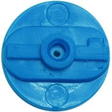 BPI Block, Style 2 (AIT), rigid, blue, 25-pack