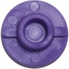 BPI Block, Style 3 (AO), rigid, purple, 25-pack
