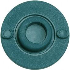 BPI Block, Style 6 (OMI), rigid, aqua, 25-pack