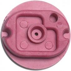 BPI Block, Style 8 (Shuron), rigid, pink, 25-pack